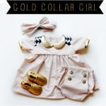 gold collar girl // project run and play all stars week 3