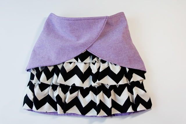 cute ruffle skirt - see kate sew