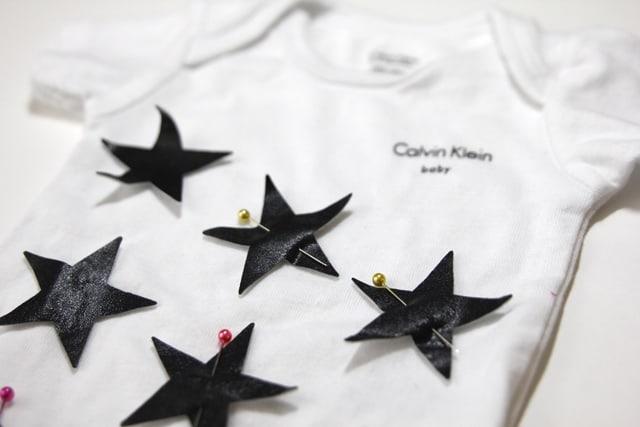 DIY star onesie