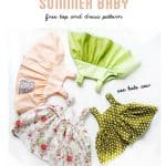 easy baby dress pattern for the summertime