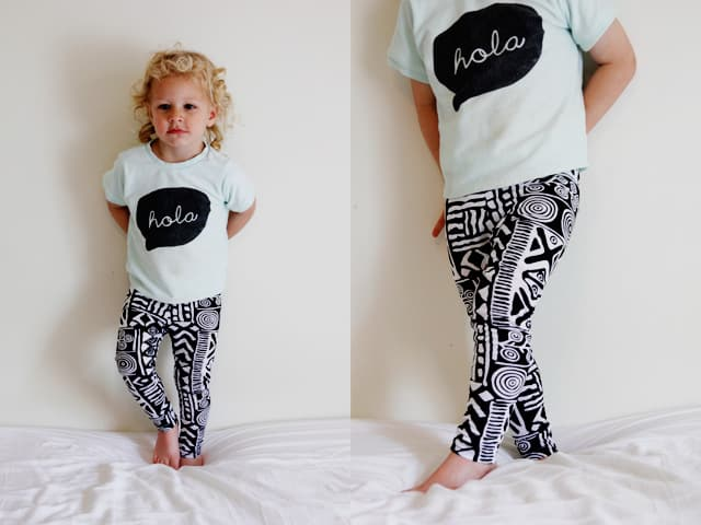 leggings diy