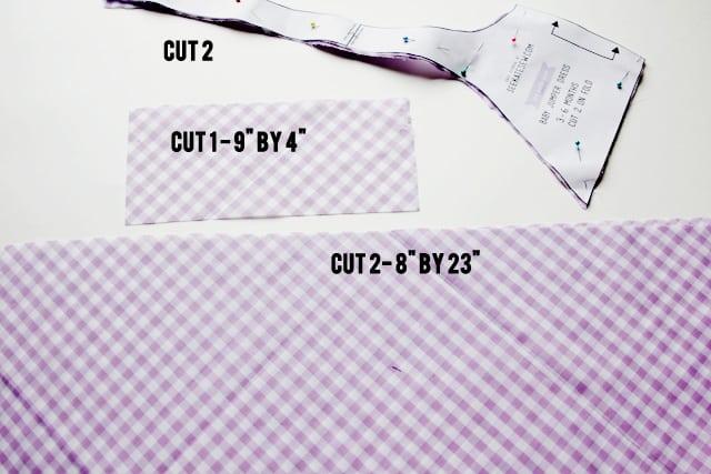 cutting guide jumper dress