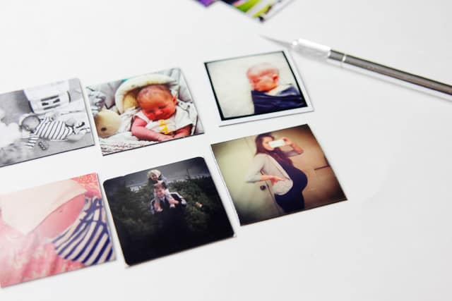 make your own photo magnets