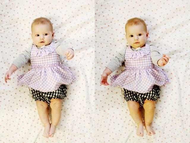 gingham jumper dress free pattern