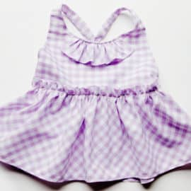 jumper dress for baby