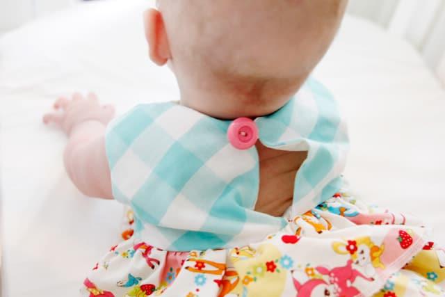 open back baby dress