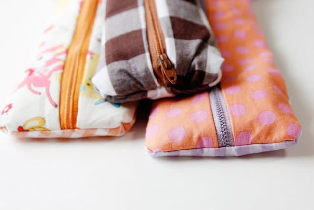 pencil pouch tutorial sewing