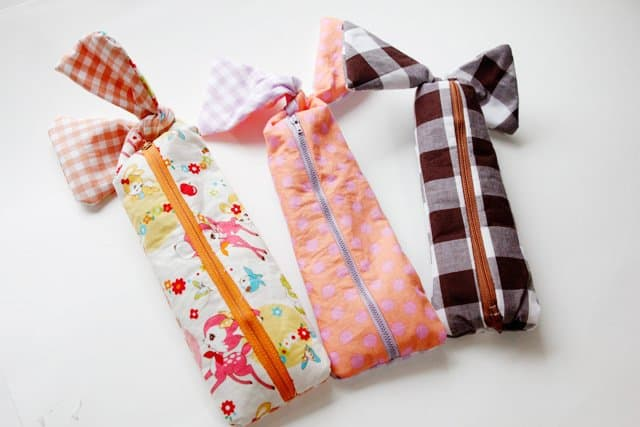 pencil pouch sewing tutorial /// see kate sew