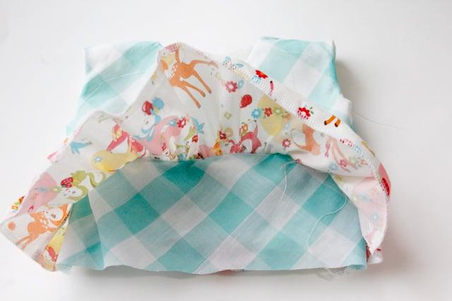 free tiered baby dress pattern