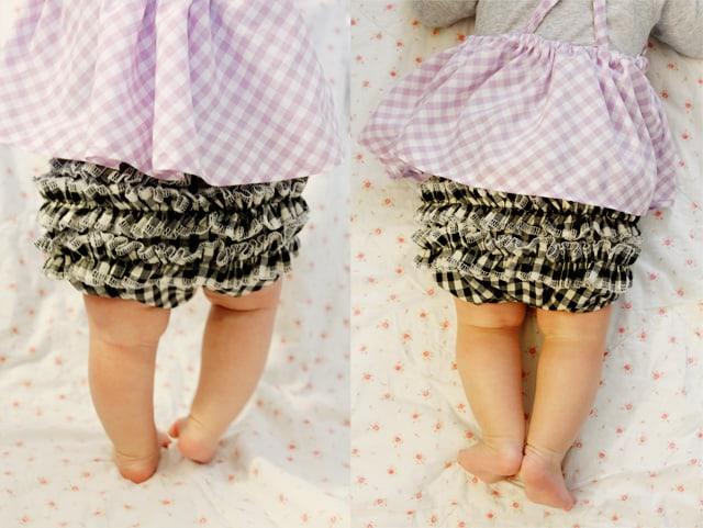 ruffle butt diaper cover