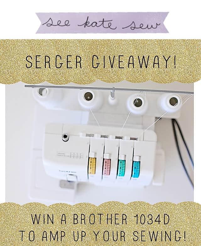 win a brother serger from seekatesew! ends June 30, seekatesew.com