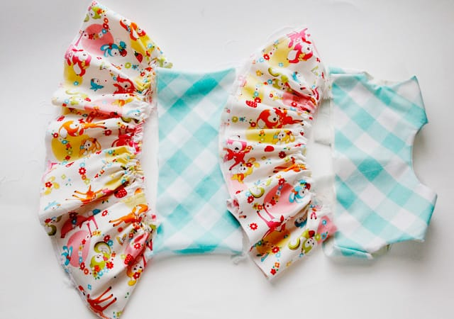 tiered baby dress tutorial