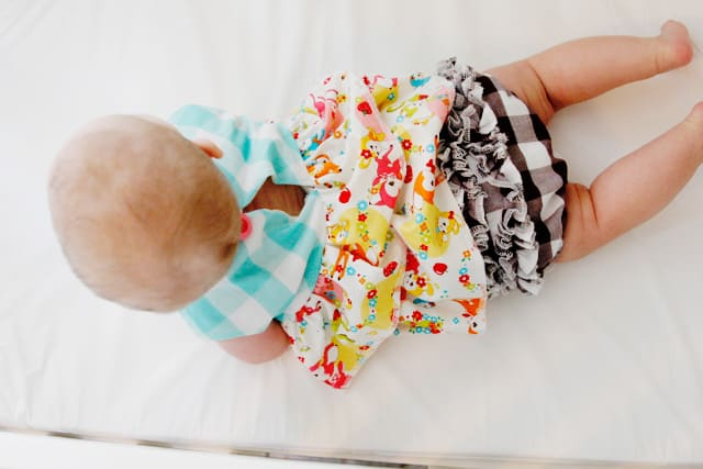 two tier ruffle dress- free pattern! // see kate sew