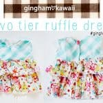 gingham style // free baby dress pattern: gingham loves kawaii!