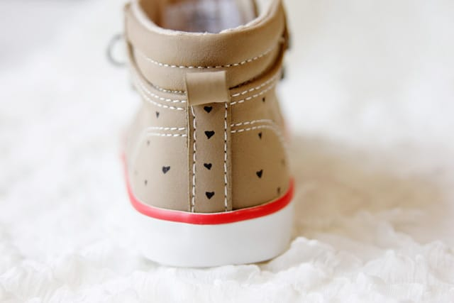 adorable shoe makeover