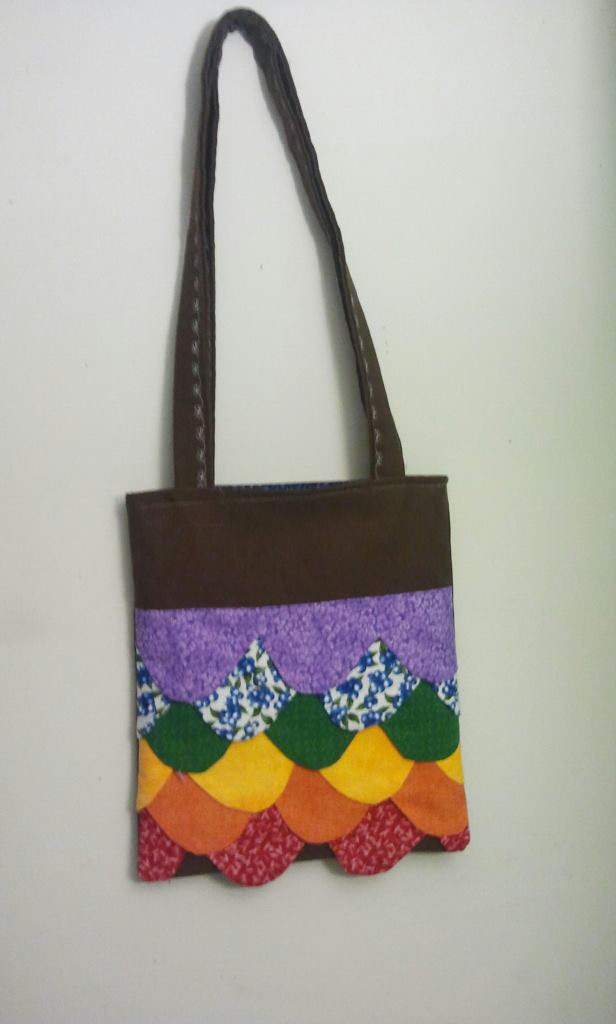sweet scallop tote