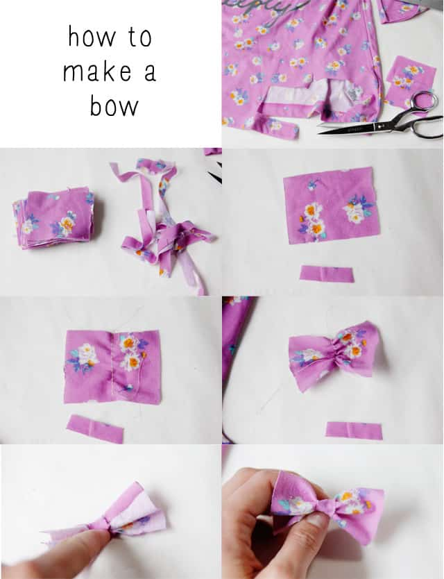 how to make a bow seekatesew.com