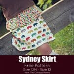 The Sydney Skirt FREE PATTERN!