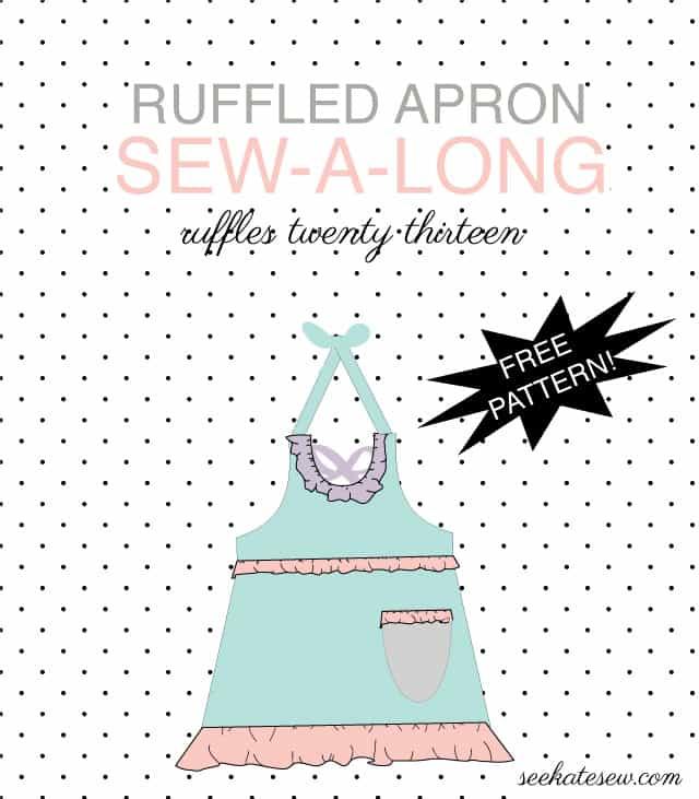 free ruffled apron pattern