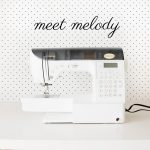 meet Melody! Baby Lock Melody Sewing Machine Review
