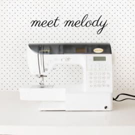 babylock melody!