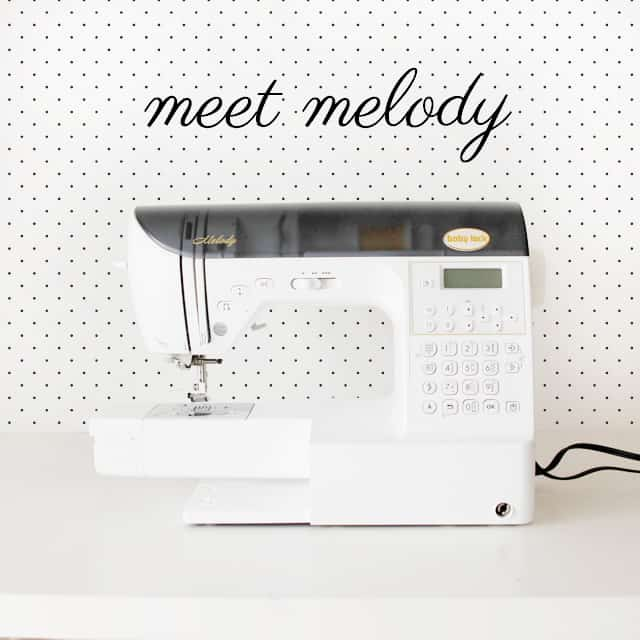 babylock melody!