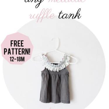 free baby tank pattern