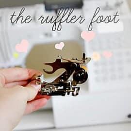 ruffle foot