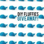 DIY fluffies pattern giveaway!