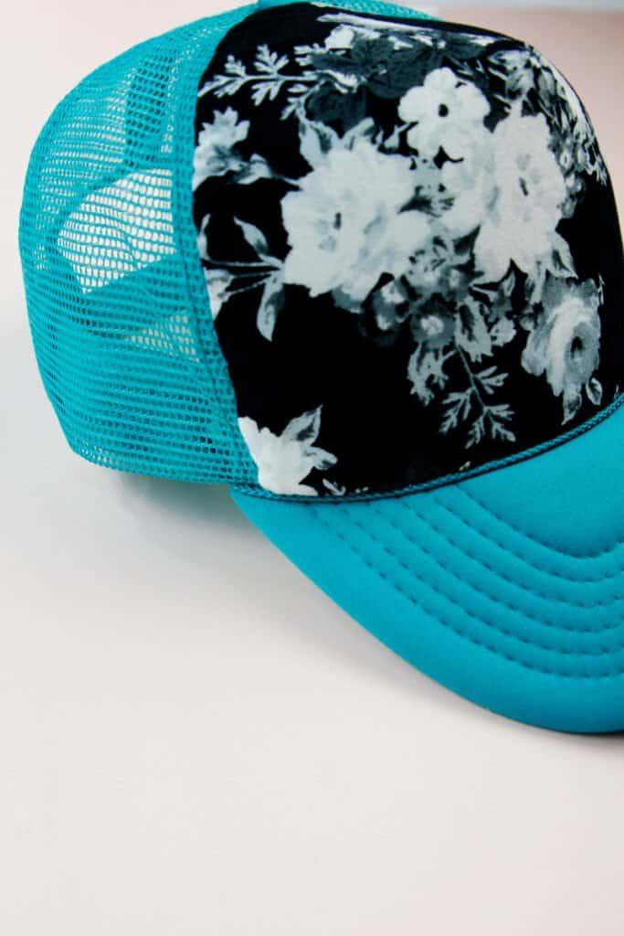 DIY Trucker Hat   Custom Trucker Hat Tutorial