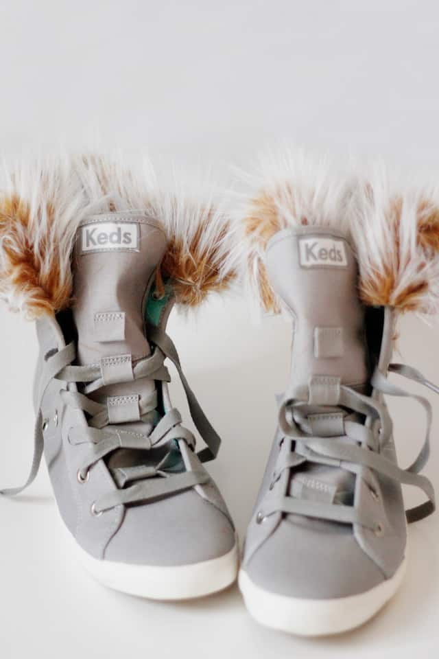 fur lined high tops