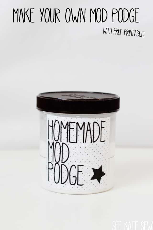 make your own mod podge