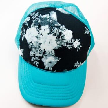 Make your own custom fabric trucker hat
