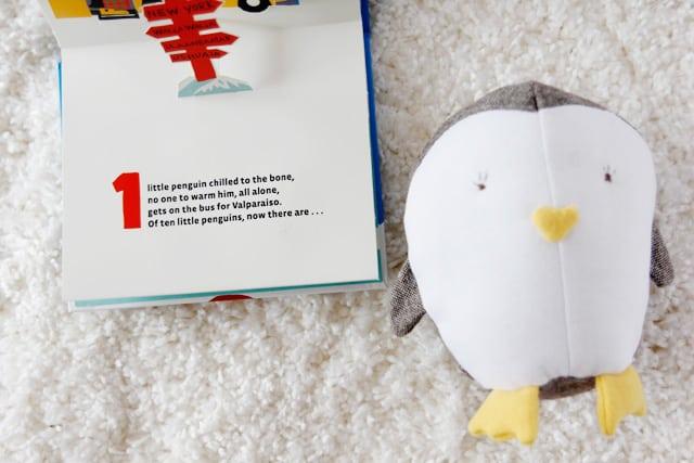 cutest little penguin toy