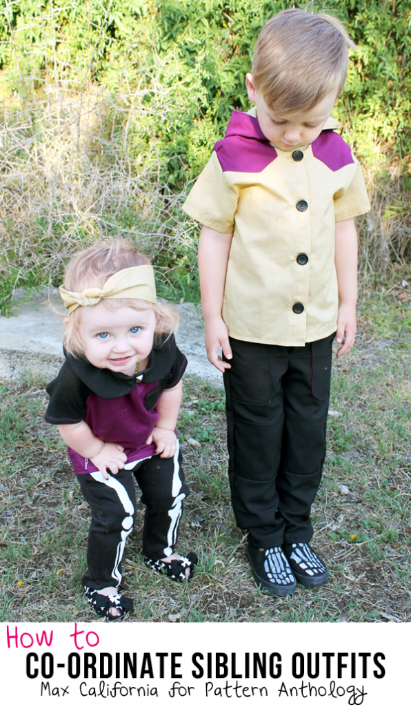 how to coordinate sibling outfits