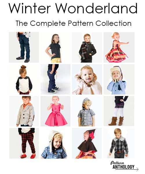complete winter wonderland collection by Pattern Anthology