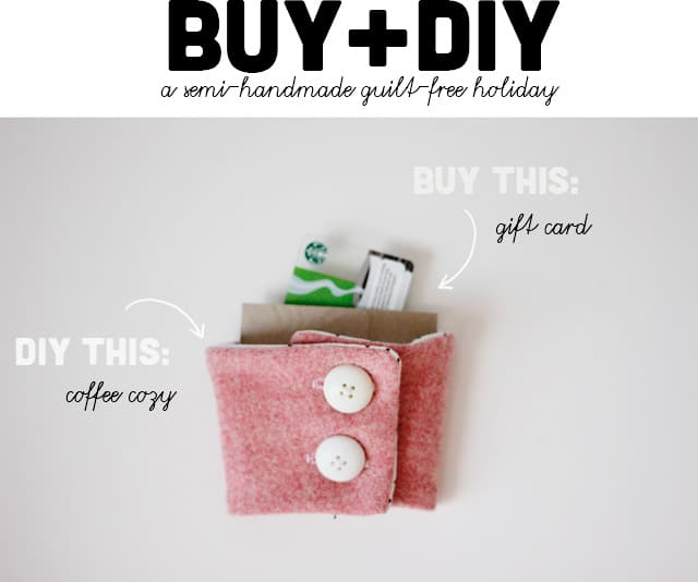 BUY and DIY: a semi-handmade guilt-free hoilday at seekatesew