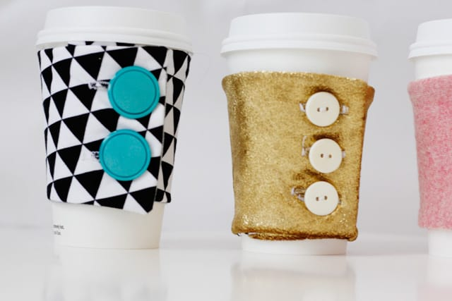 free coffee cozy pattern