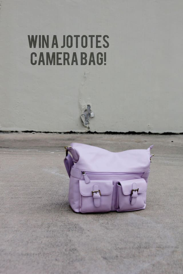 win a jototes camera bag!
