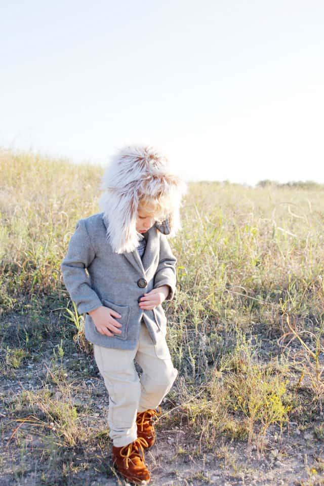 minnetonka moccs + trapper hat