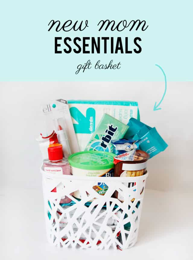 Just Had A Baby Gift Ideas : What to bring a new mom essentials gift basket