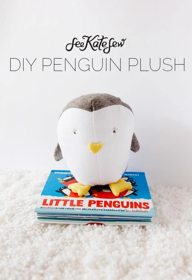 DIY Penguin Plush | See Kate Sew