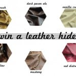 win a leather hide from Leather Hide Store!