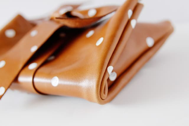 leather-polka-dot-clutch