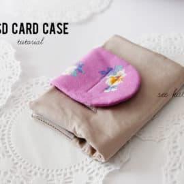 SD card holder case tutorial