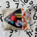 buy + diy: chapstick sampler with see-through zipper bag FREE PATTERN!
