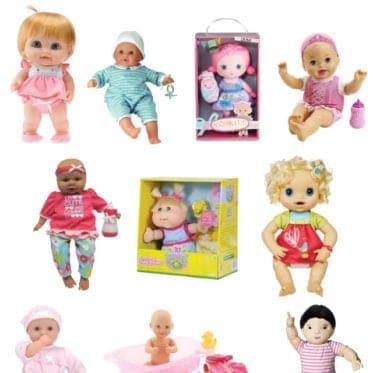 10 best baby dolls!