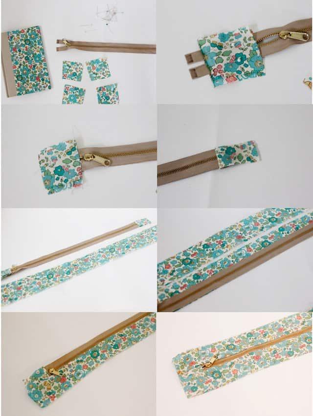 How To Make A Book Clutch With Zipper : Buy diy zipper book clutch tutorial see kate sew
