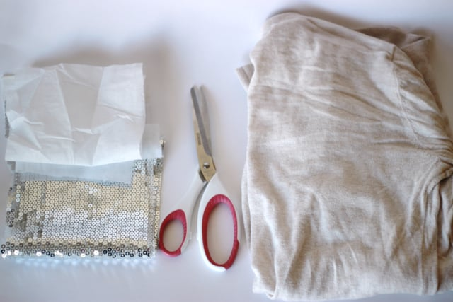 sequin elbow patch supplies