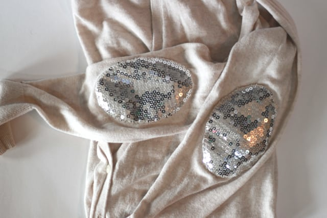 sequin elbow patch tutorial